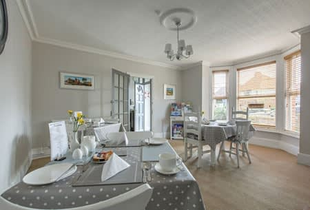 Breakfast Room at Alverstone B&B