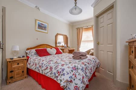 The front double ensuite room at Alverstone B&B in Sheringham