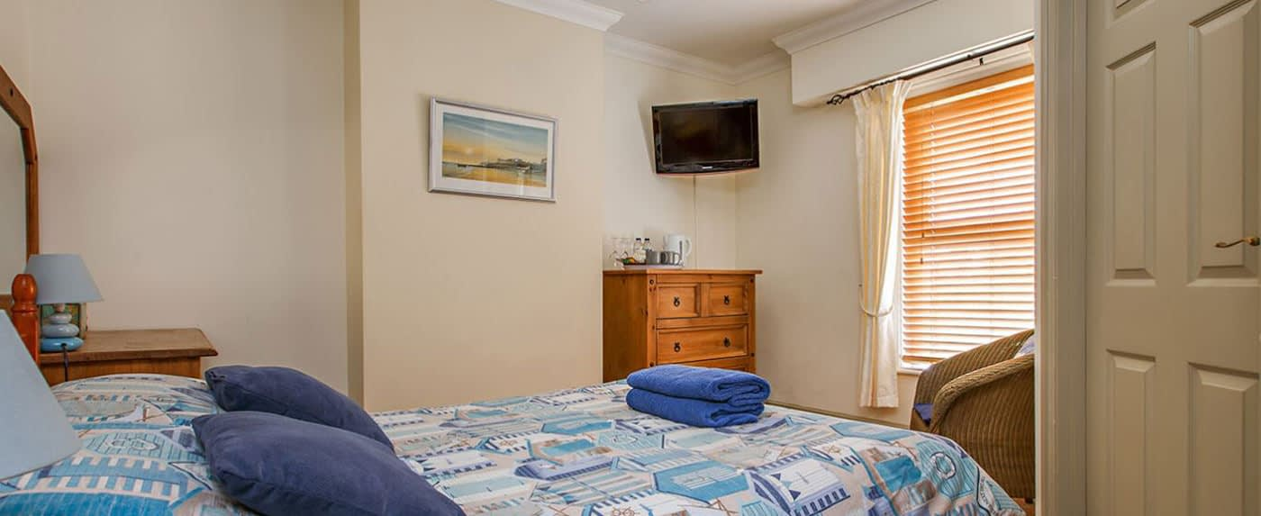 A Double B&B Ensuite Room at Alverstone in Sheringham