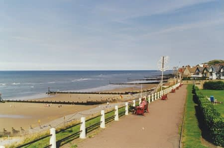 Sheringham Seafront Beach - The Tide is out
