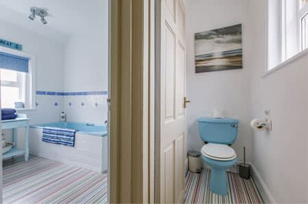 The Ensuite Bathroom of the Twin B&B Room